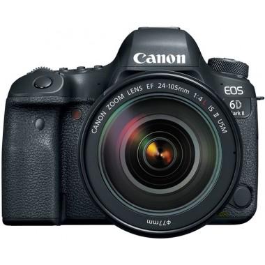 Фото видео техника - Зеркальная камера Canon EOS 6D Mark II kit 24-105