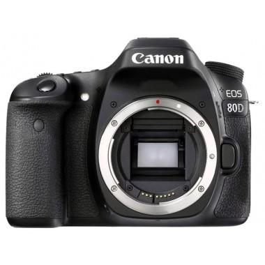 Фото видео техника - Зеркальная камера Canon EOS 80D kit 18-55 черный