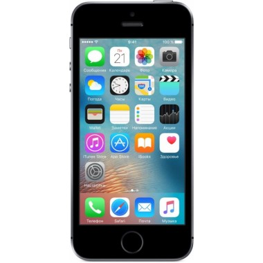 Apple - Apple iPhone SE 32GB (темно серый) space gray