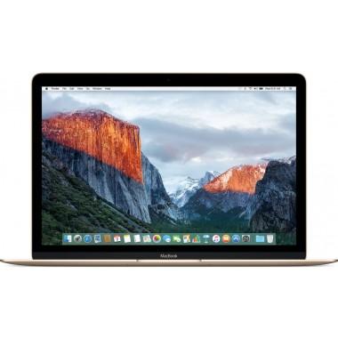 Ноутбуки - 12 Apple MacBook MNYK2 золотистый