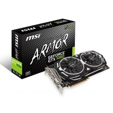 Видеокарты - MSI GeForce GTX 1060 ARMOR 6G